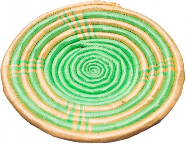 Bastschale grün-gold