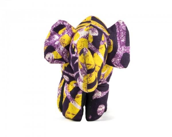 Stoffelefant lila - Kleinkind