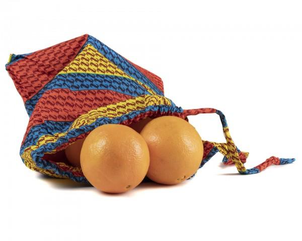Obst, Gemüse oder Brotbeutel - Streifenmuster
