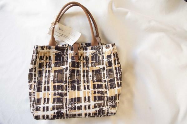 Safari-Tasche aus äthiopischem Baumwollstoff - Tote