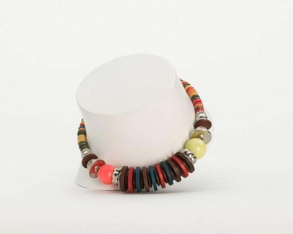 Glasperlen Halskette