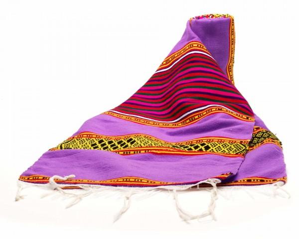 Tischläufer aus äthiopischer Schurwolle