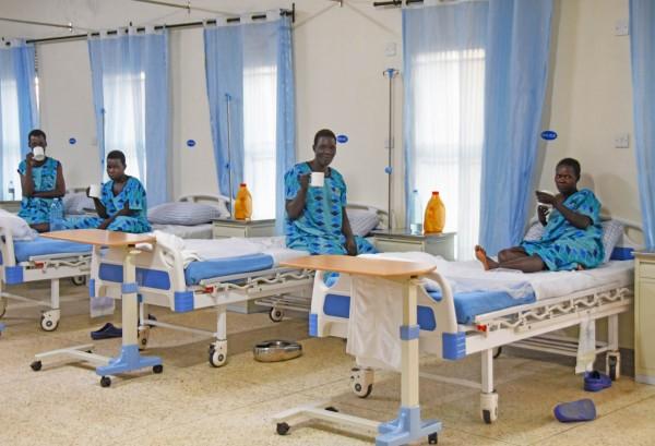 """Geschenkspende """"TERREWODE Fistula-Hospital"""" in Uganda"""