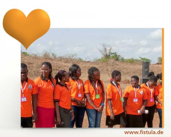 """Geschenk """"Fistula-Hospital in Terrewode"""" Uganda"""