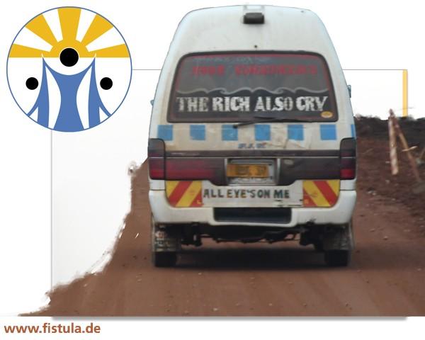 """Geschenk """"Ambulanz Fahrzeug für Terrewode Hospital"""" Uganda"""